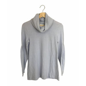 Lou & Grey Lilac Cowl Neck Pullover Sweater XS